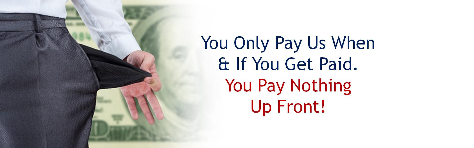 Pay Nothing UpFront
